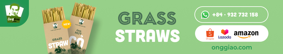 Grass Straws Come From Vietnam -11