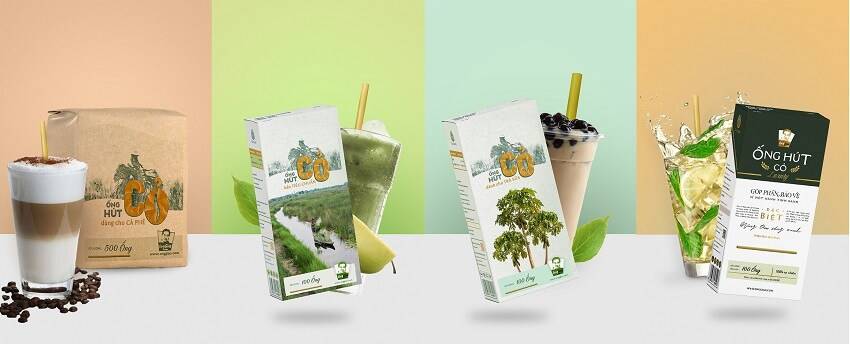Eco Life Launching 4 Special Straws -1